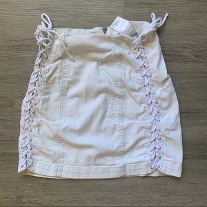 Carmar / LF Lace Up Skirt